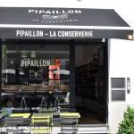 La terasse de Pipaillon, la conserverie