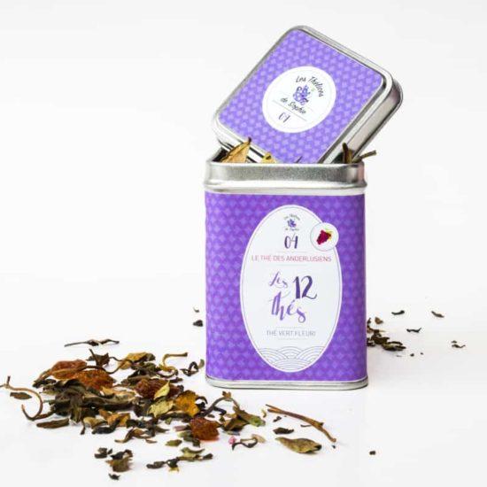 Lavendel vanille heide groene thee