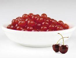 Perles de sirop de cerises