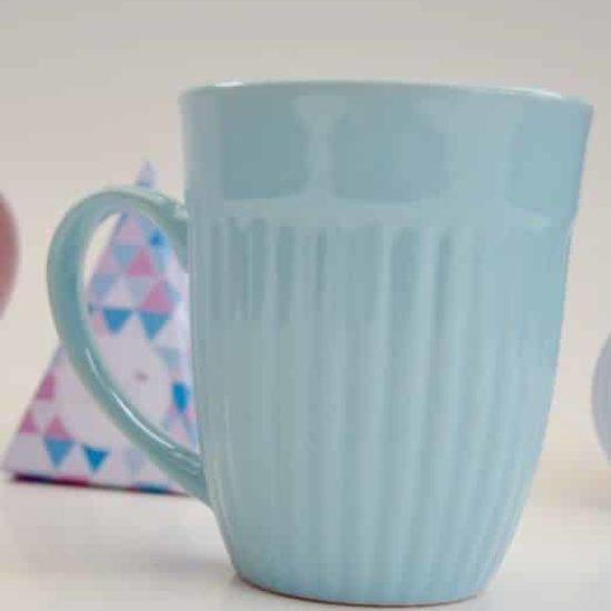 Tasse bleu pastel 300ml