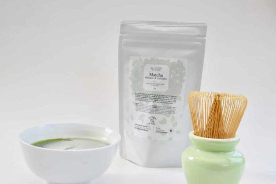 Découvrez notre matcha culinaire BIO issu du Uji pour donner couleur et vie à vos recettes
