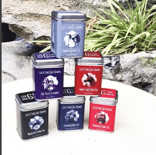 Les 6 thés de géants de Ath