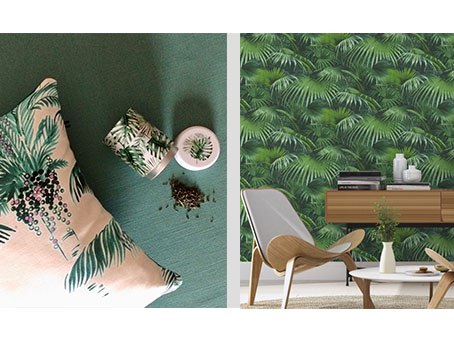 Les feuillages et autres motifs tropicaux envahissent nos intérieurs. Nos accessoires ont cédé à la tendance jungle.