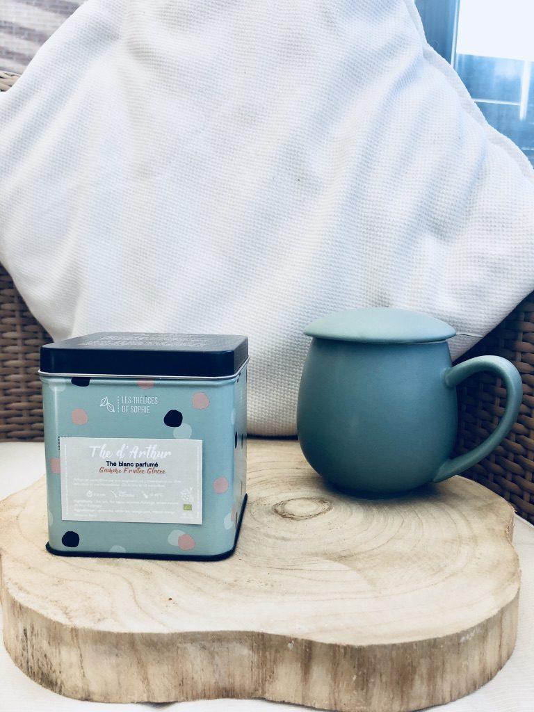The blanc mélangé au thé vert et à la fleur d'oranger - 100%BIO - VEGAN - GLUTEN FREE