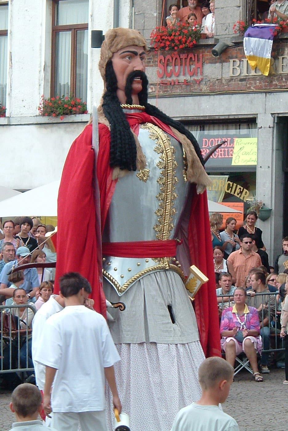 Image reprsentant Ambriorix de la Ducasse d'Ath