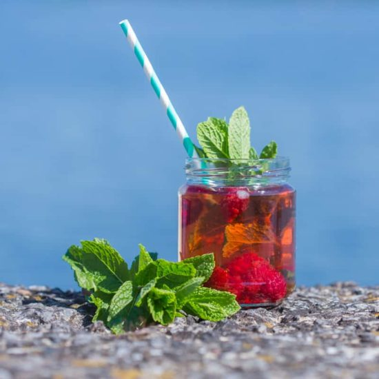 Infusion de Julie: thé glacé