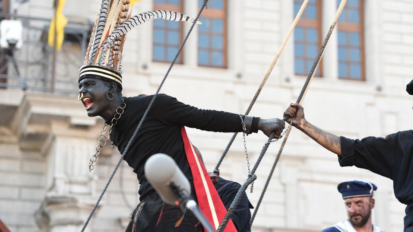 Image représentant le Sauvage de la Ducasse d'Ath