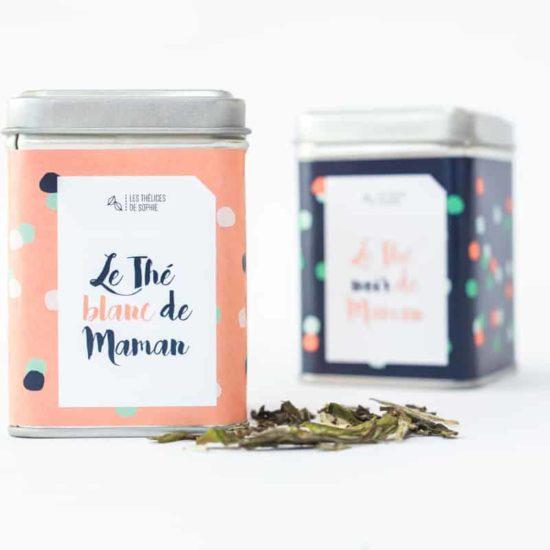 Nouveau mélange thé blanc de Maman