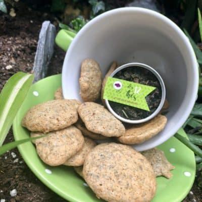 Mini Cookies pépites de chocolat et thé de Stéphanie