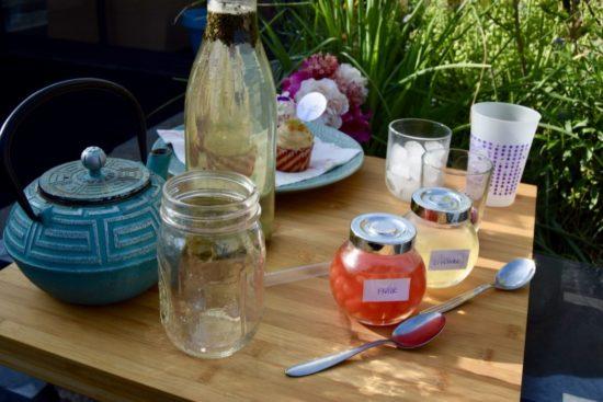 Bubble Tea aux bubbles fraise et lychee associées au thé blanc d'Elise