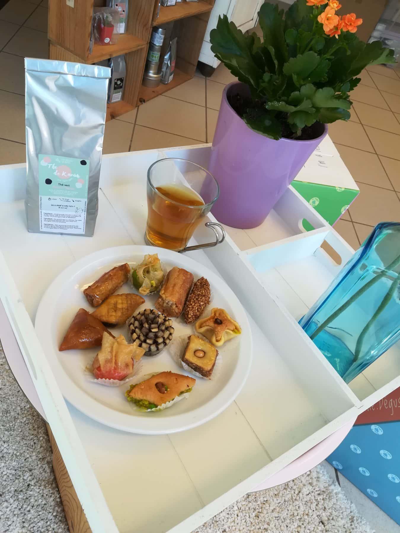 Thé vert à la menthe: Karim