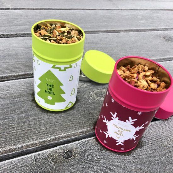 Thé vert et fruisane de Noël 2019