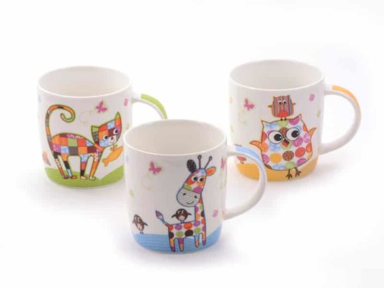 Tasses Animals Hiboux
