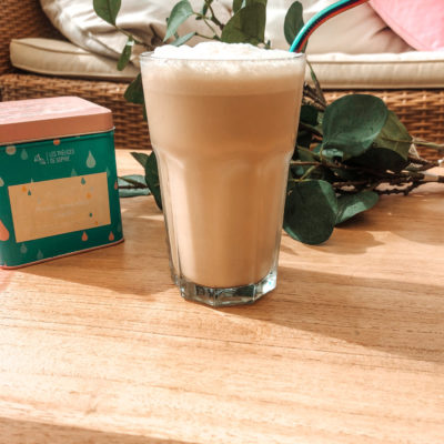 🔥 Ooops, I did it again!! ☀️ En ce dimanche 28 juin, je viens de concocter une nouvelle B.O.M.B.E 😂 que j'ai nommée: le Milky Vanilla Nuts Latte ☄️..