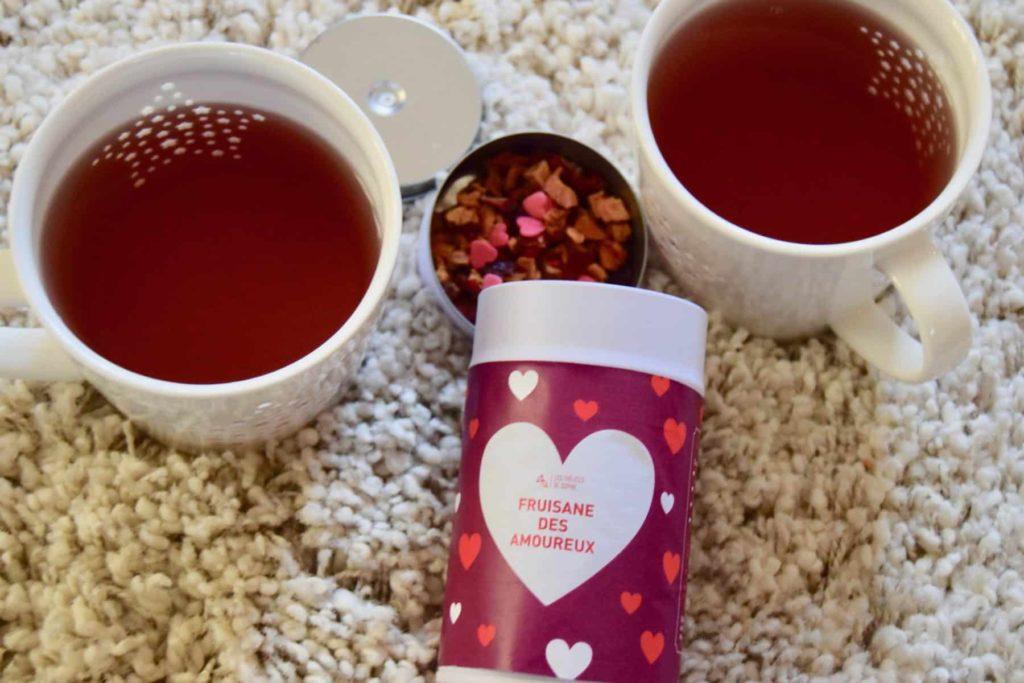 fruisane des amoureux  à l'occasion de la Saint-Valentin